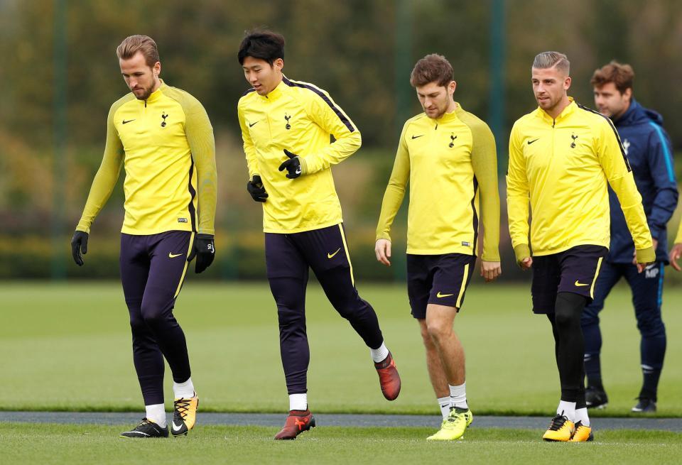 Tottenham Hotspur - Open Practice ***Correction ***