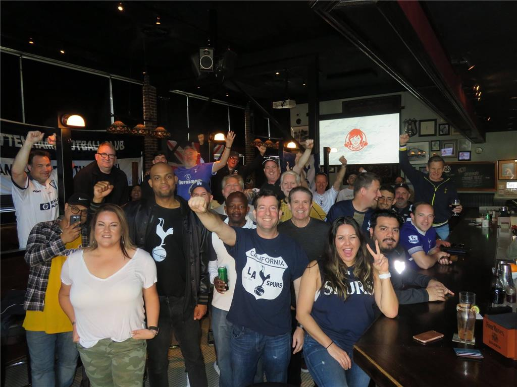 41 supporters turned up for FA Cup 5th round viewing of Rochdale vs Tottenham.