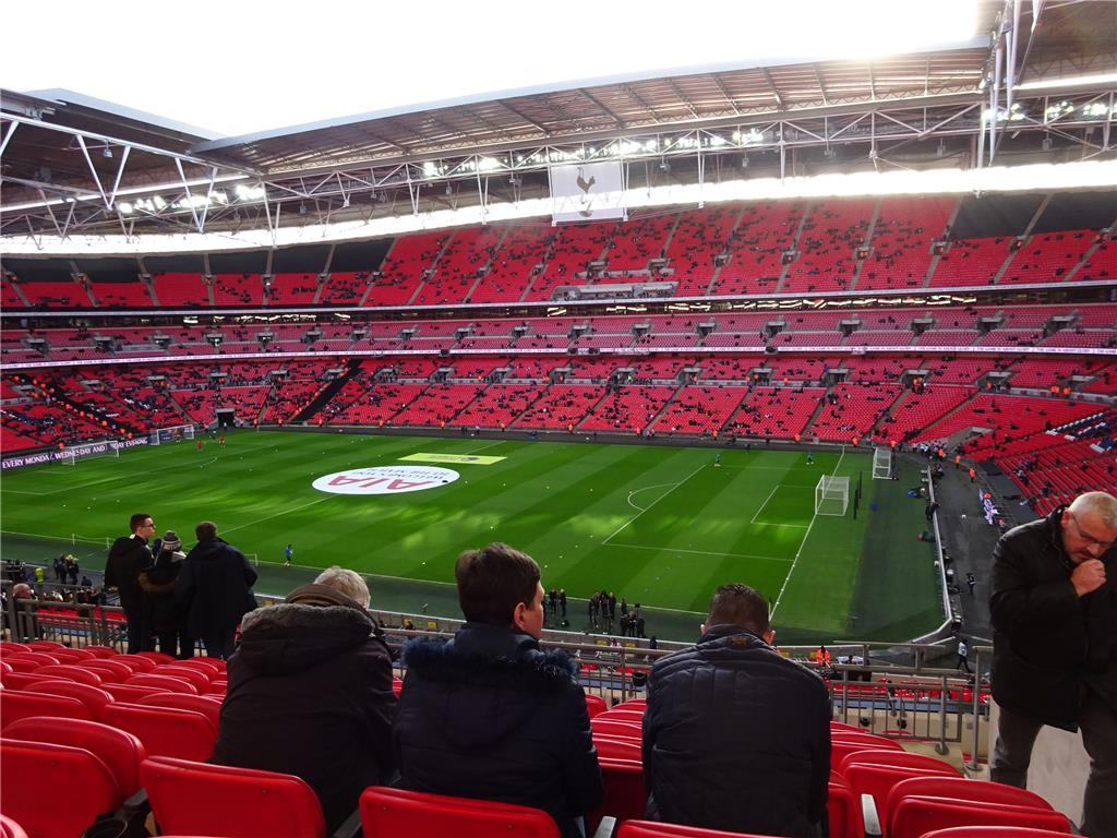 Padded Seats at Wembley!