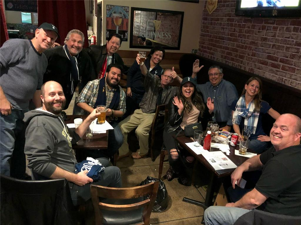L.A. Spurs Holiday Party at Lucky Baldwin's Trappist