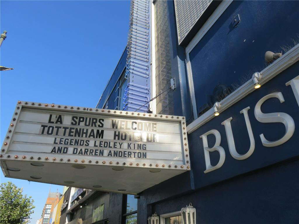 L.A. Spurs Supporters Club Evening. Legends Night with Ledley King and Darren Anderton.