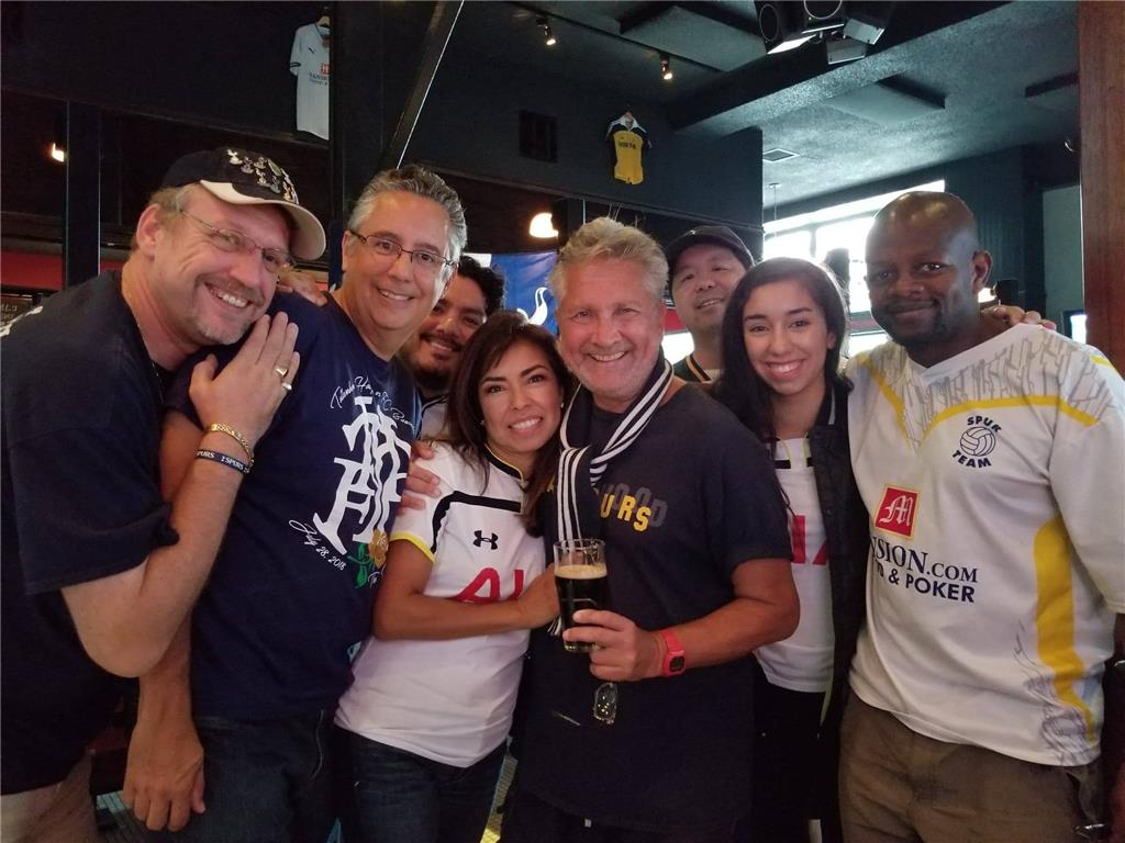 First home win of the season and going away party for Brooke Banuelos! Tottenham 3-1 Fulham. Photo credits Jack Sibajene.