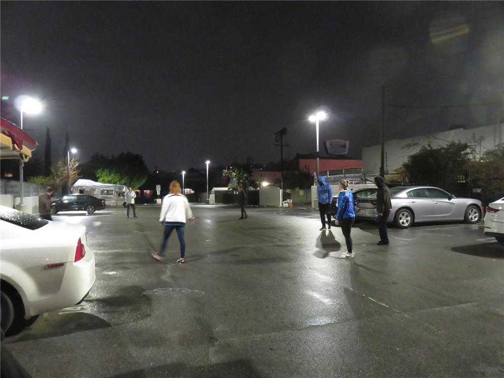 Car park meet up at midnight before NLD kick off. Organized by Graeme Rudge.