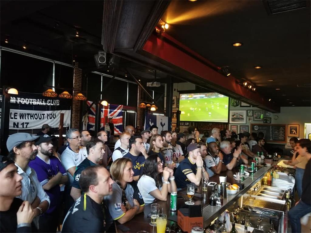 We've got Dele! 165 supporters turned up for Tottenham game vs Chelsea.